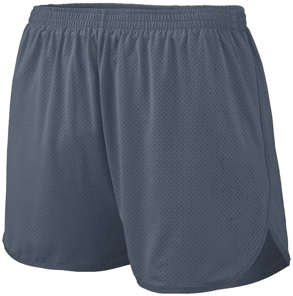 Augusta 339 Solid Split Short - Youth - Dark Gray - HIT A Double