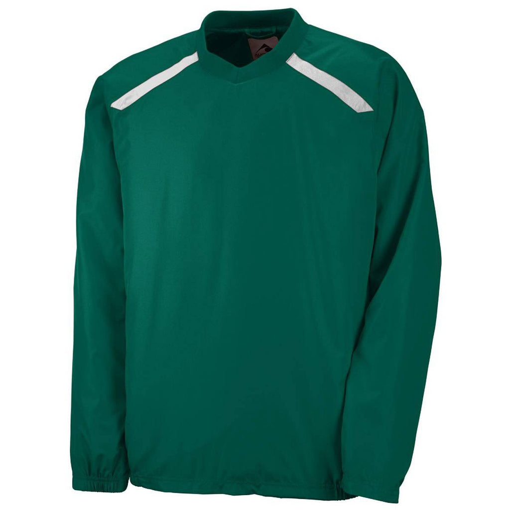 Augusta 3418 Youth Promentum Pullover - Forest White - HIT A Double