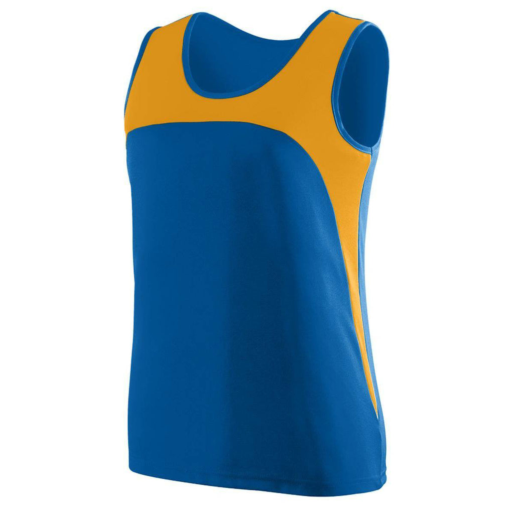 Augusta 342 Ladies Velocity Track Jersey - Royal Gold - HIT A Double