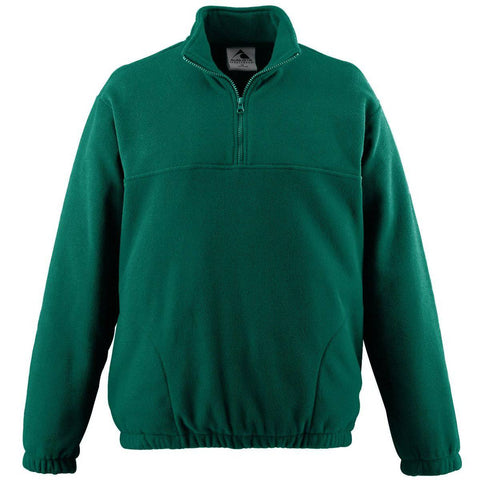 Augusta 3530 Chill Fleece Half-Zip Pullover - Forest