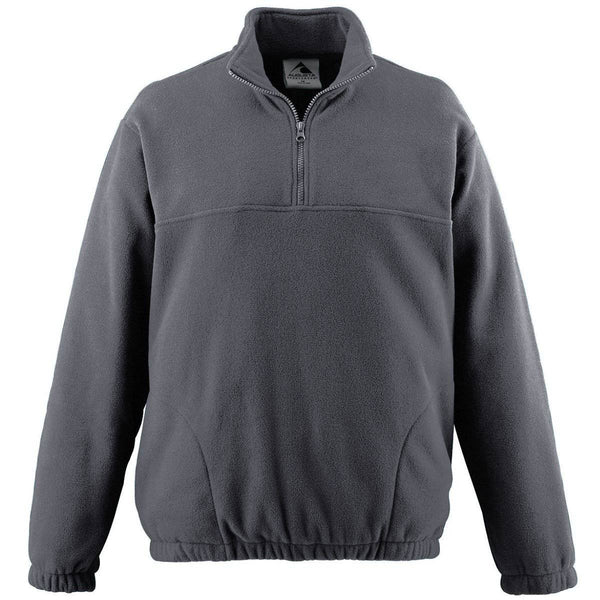 Augusta 3531 Youth Chill Fleece Half-Zip Pullover - Dark Gray