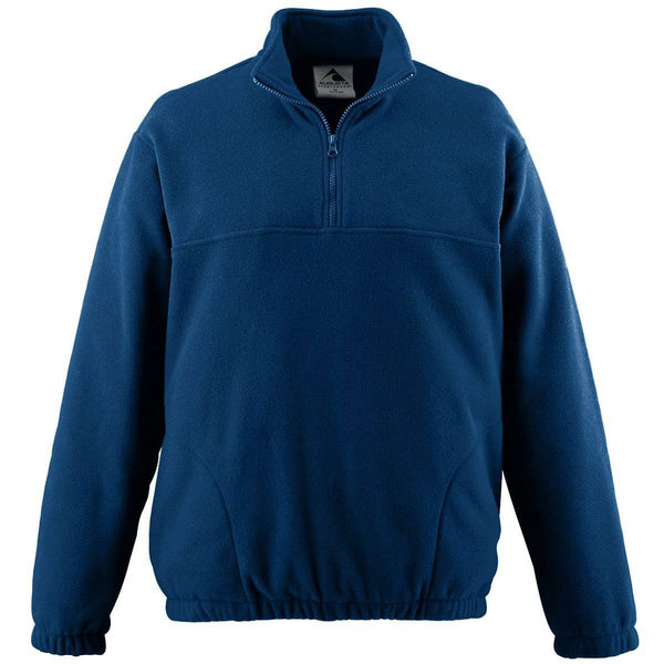 Augusta 3531 Youth Chill Fleece Half-Zip Pullover - Navy