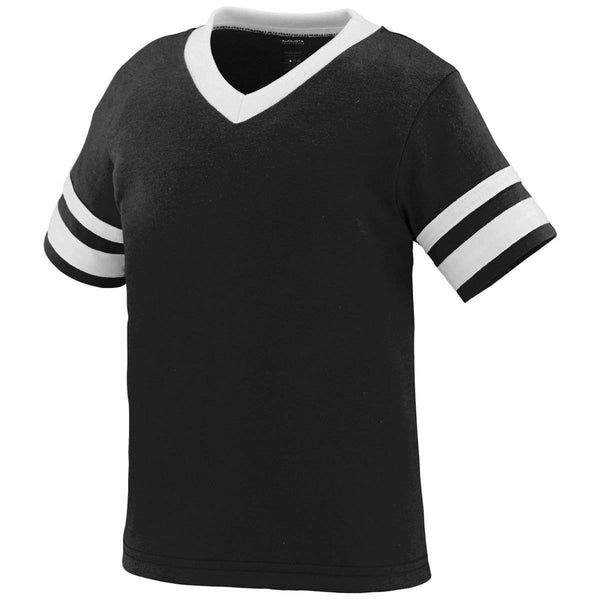 Augusta 362 Sleeve Stripe Jersey - Toddler - Black White - HIT A Double