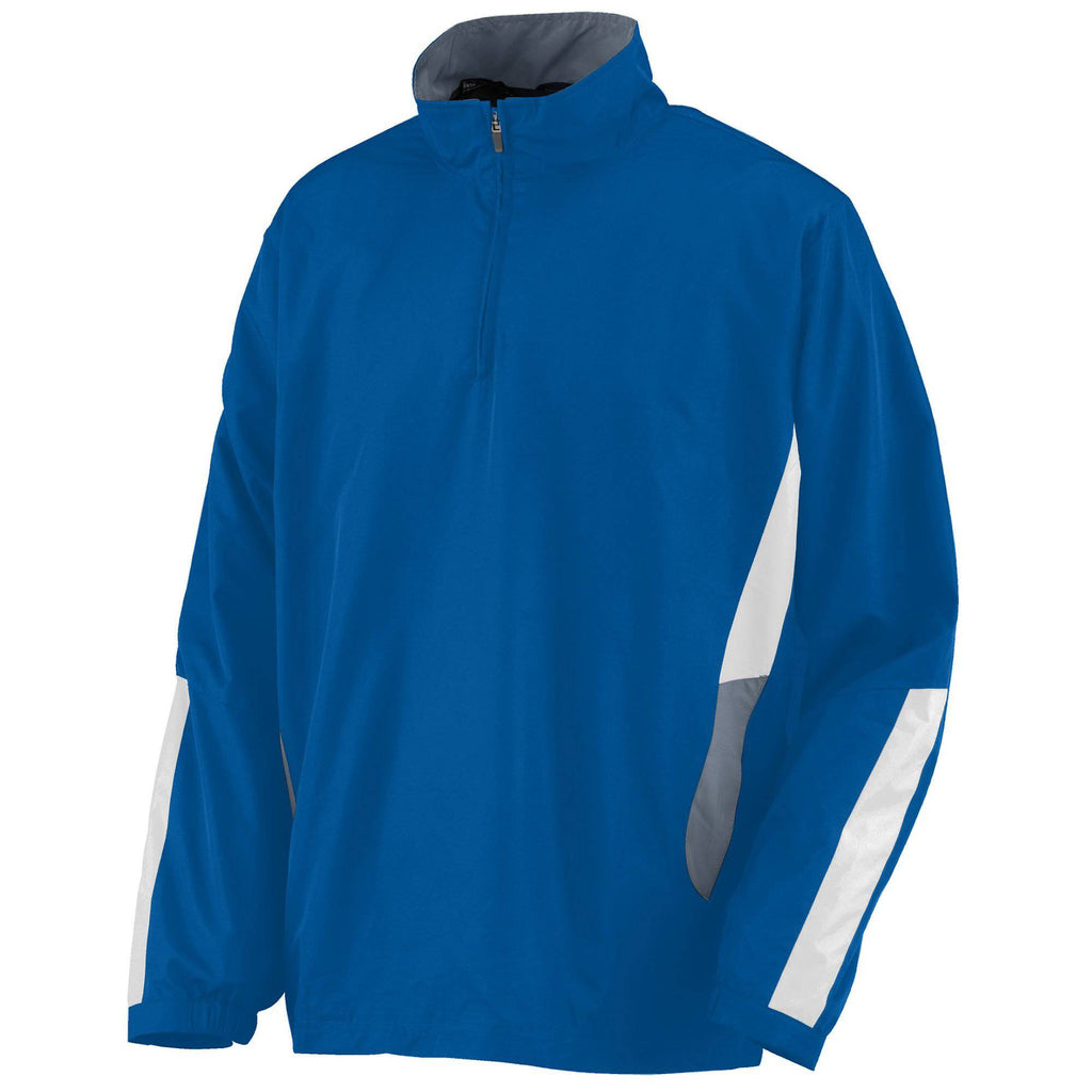 Augusta 3720 Drive Pullover - Royal Graphite White - HIT A Double