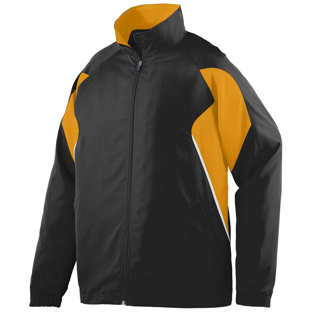 Augusta 3730 Fury Jacket - Black Gold White - HIT A Double