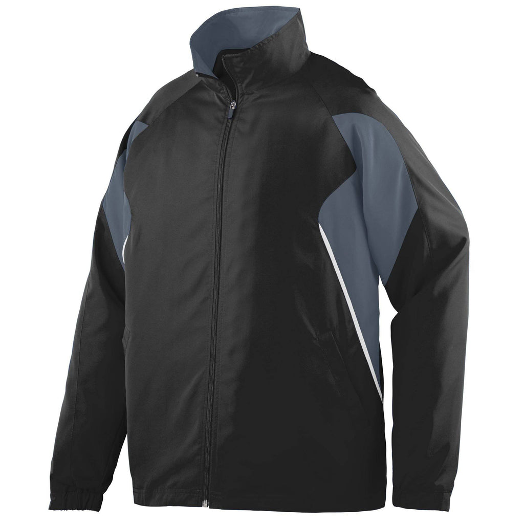 Augusta 3730 Fury Jacket - Black Graphite White - HIT A Double