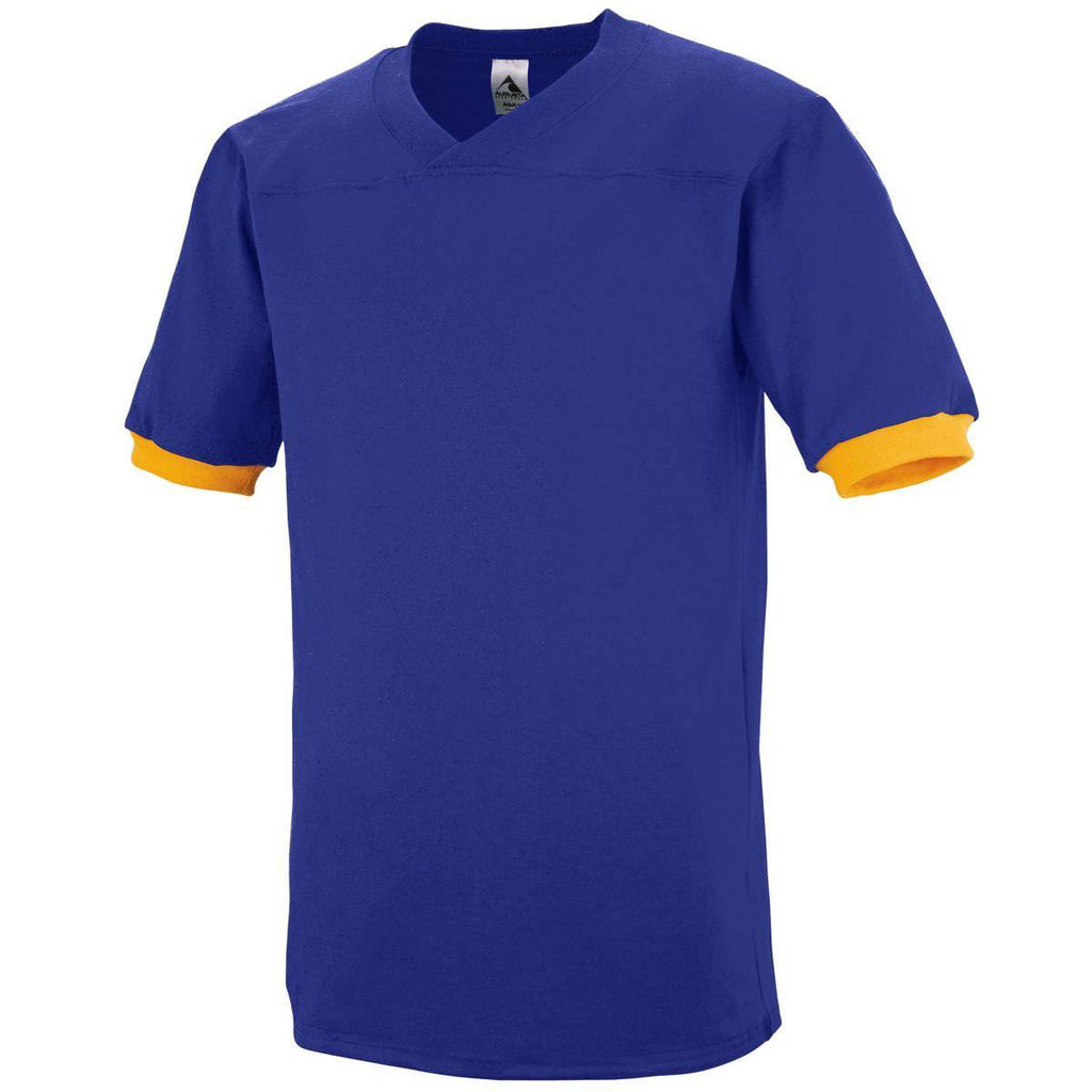 Augusta 374 Fraternity Jersey - Purple Gold - HIT A Double