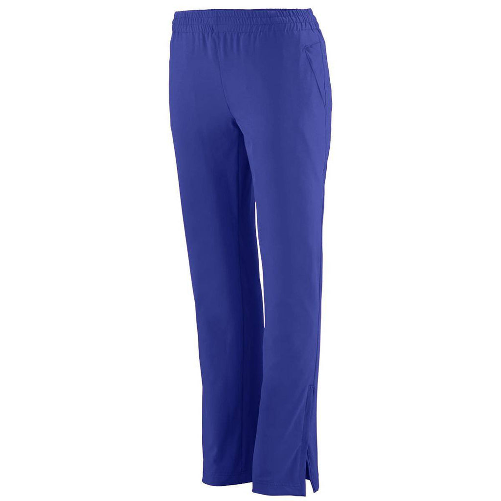 Augusta 3786 Ladies Quantum Pant - Purple
