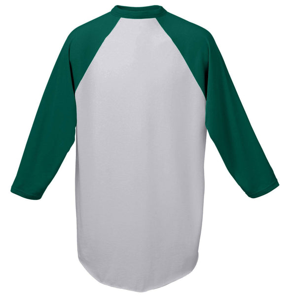 Augusta 420 Baseball Jersey - Athletic Heather Dark Green - HIT A Double