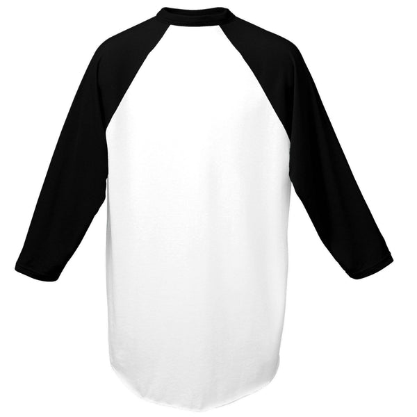 Augusta 420 Baseball Jersey - White Black - HIT A Double