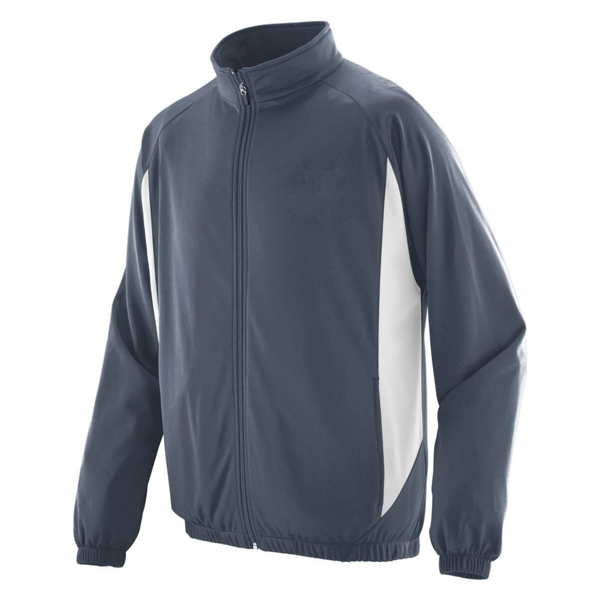 Augusta 4391 Medalist Jacket - Youth - Dark Gray White - HIT A Double