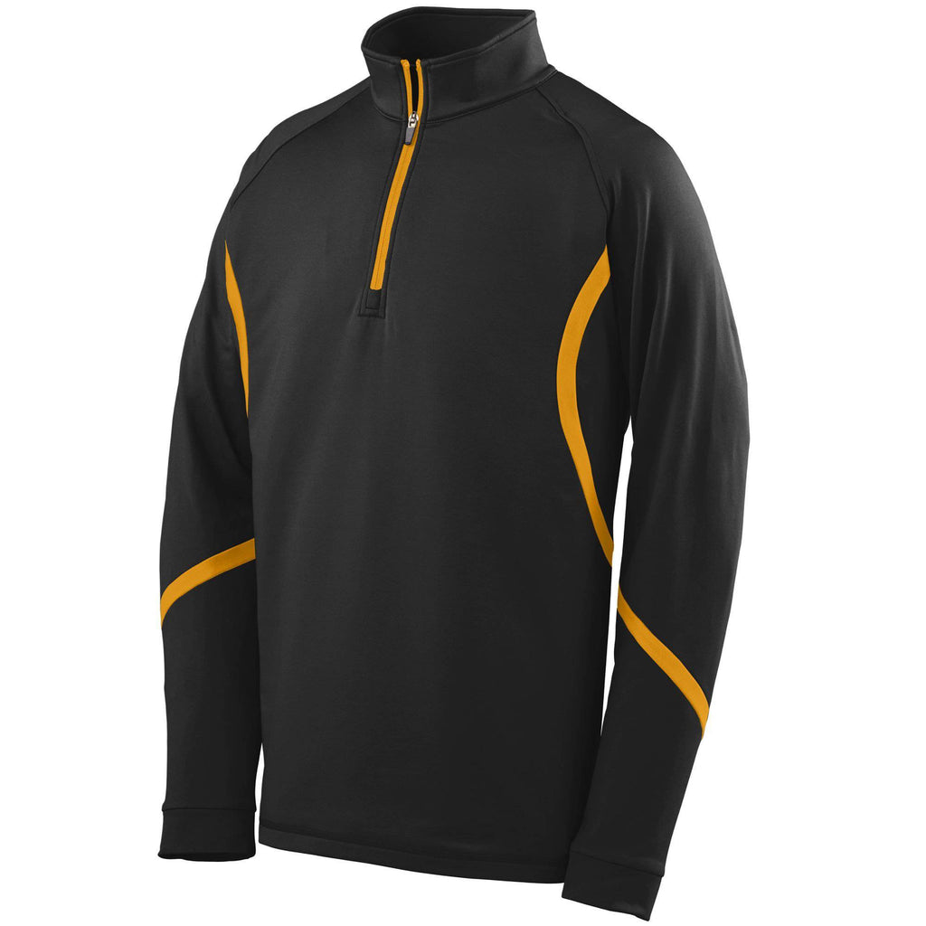 Augusta 4760 Zeal Pullover - Black Gold - HIT A Double