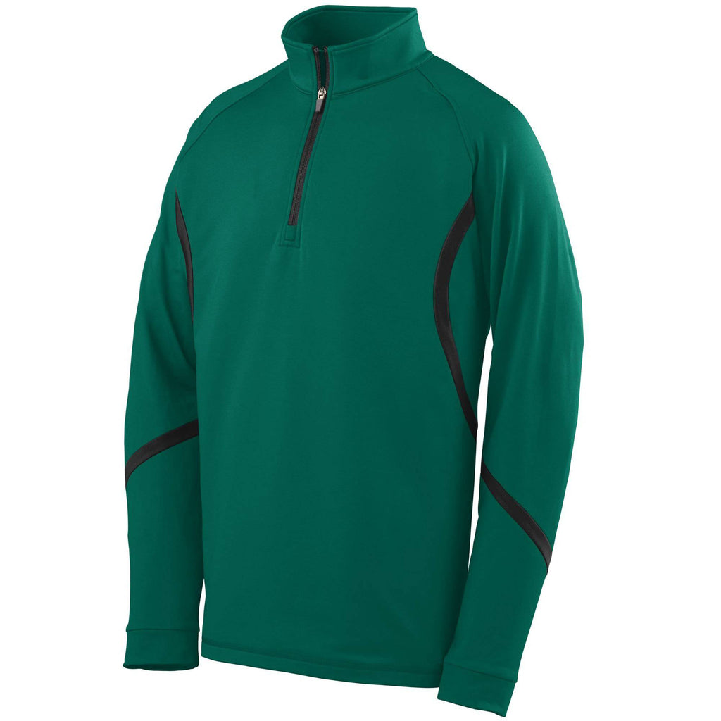 Augusta 4760 Zeal Pullover - Dark Green Black - HIT A Double