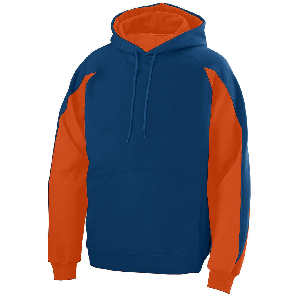 Augusta 5461 Volt Hoody - Youth - Navy Orange - HIT A Double