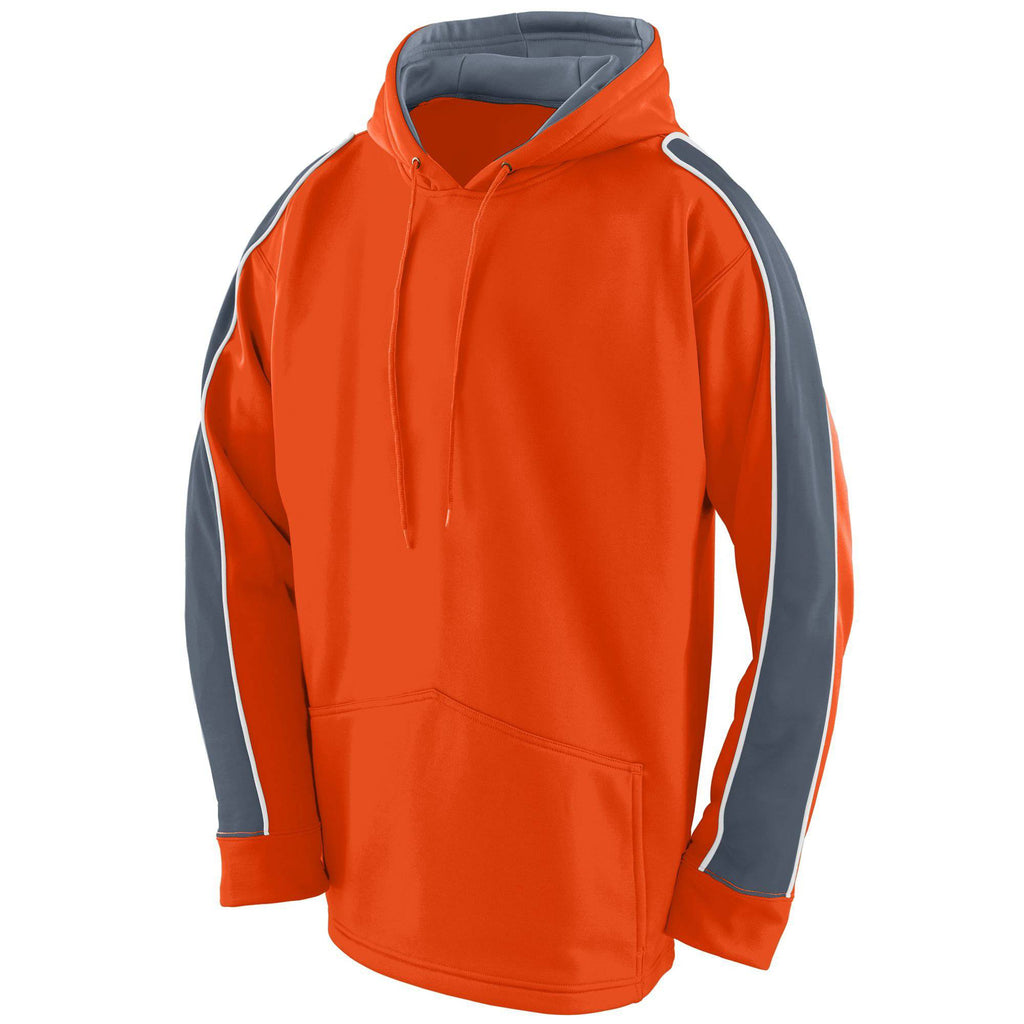 Augusta 5524 Zest Hoody - Youth - Orange Graphite White - HIT A Double