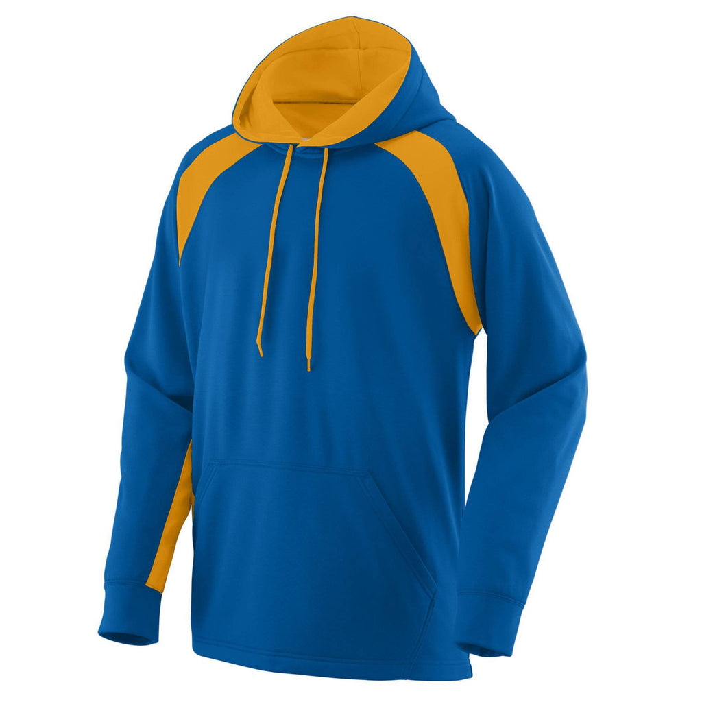 Augusta 5527 Fanatic Hooded Sweatshirt - Royal Gold - HIT A Double