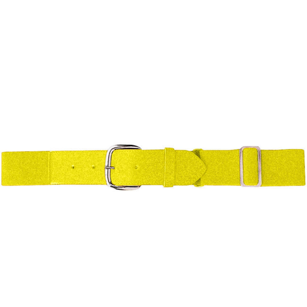 Augusta 6001 Elastic Baseball Belt - Adult - Power Yellow - HIT A Double