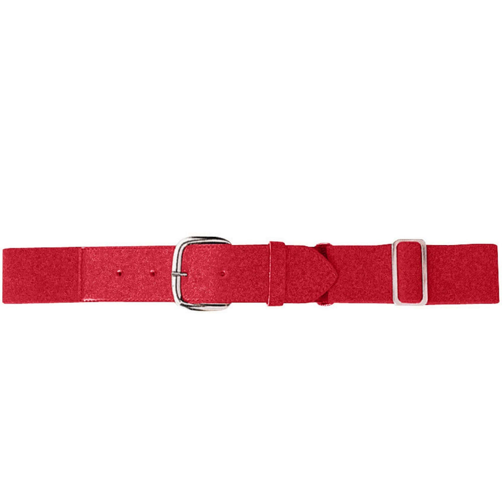 Augusta 6001 Elastic Baseball Belt - Adult - Red - HIT A Double