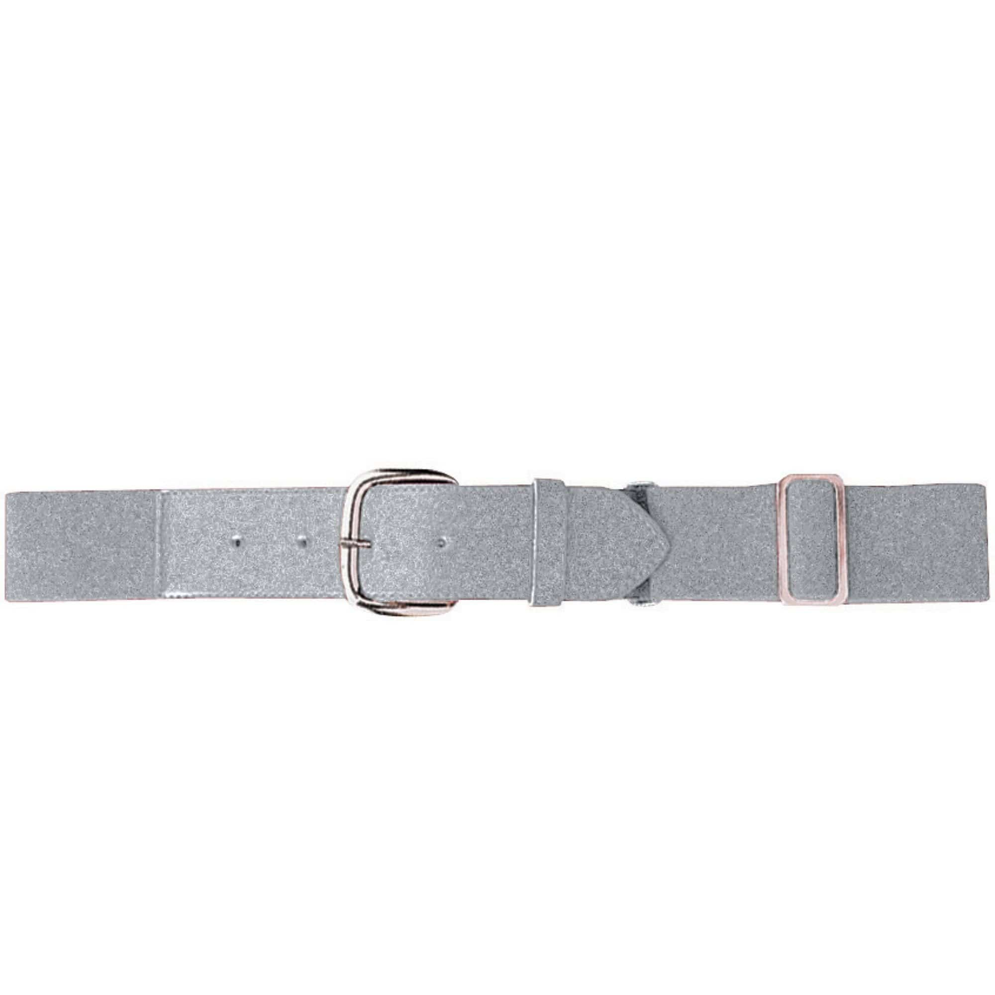Augusta 6001 Elastic Baseball Belt - Adult - Silver Gray - HIT A Double