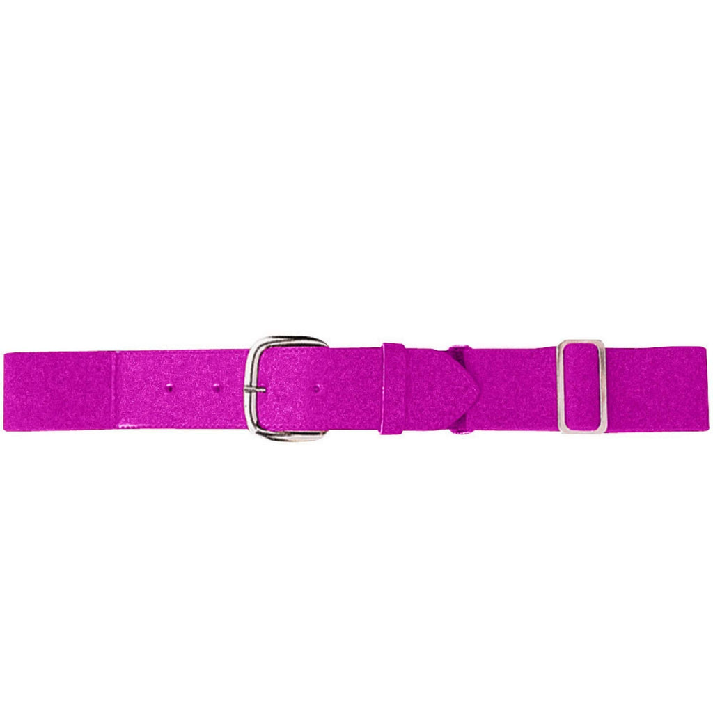 Augusta 6002 Elastic Baseball Belt - Youth - Power Pink - HIT A Double