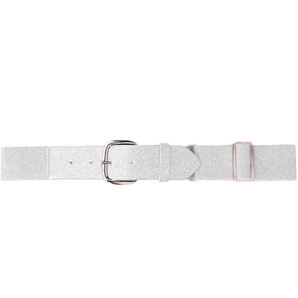 Augusta 6002 Elastic Baseball Belt - Youth - White - HIT A Double