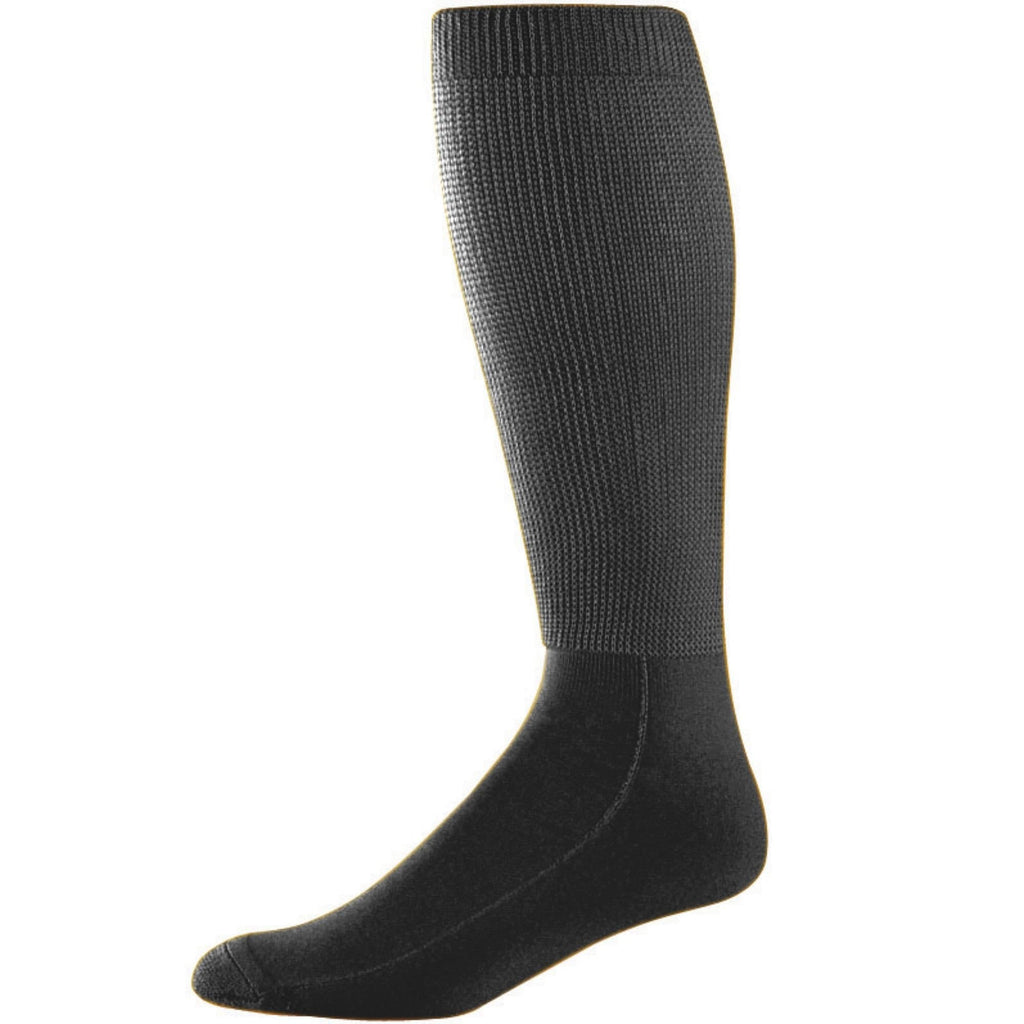 Augusta 6085 Wicking Athletic Knee High Socks - Black - HIT A Double