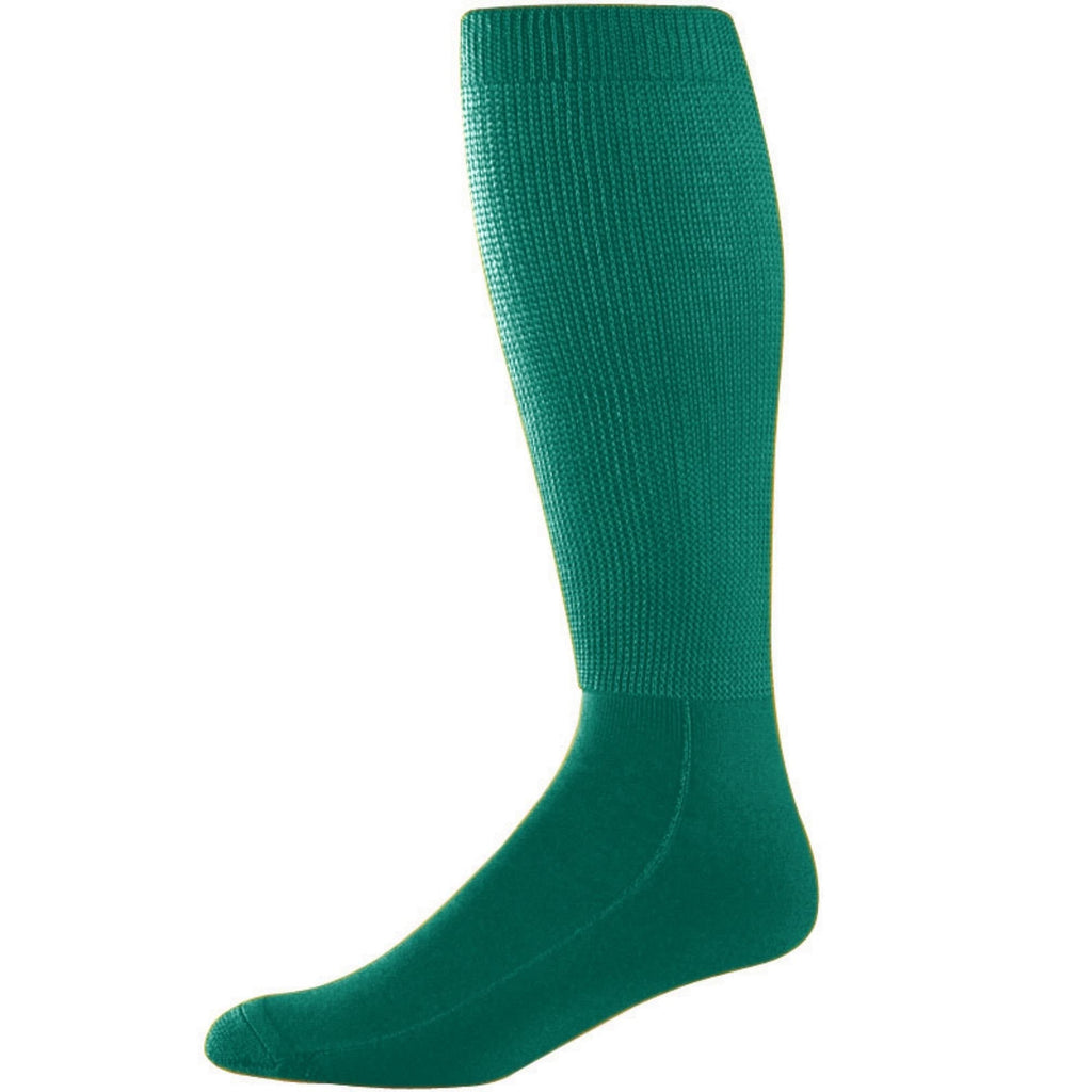 Augusta 6085 Wicking Athletic Knee High Socks - Dark Green - HIT A Double