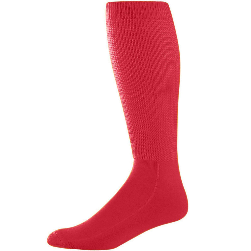 Augusta 6085 Wicking Athletic Knee High Socks - Red - HIT A Double