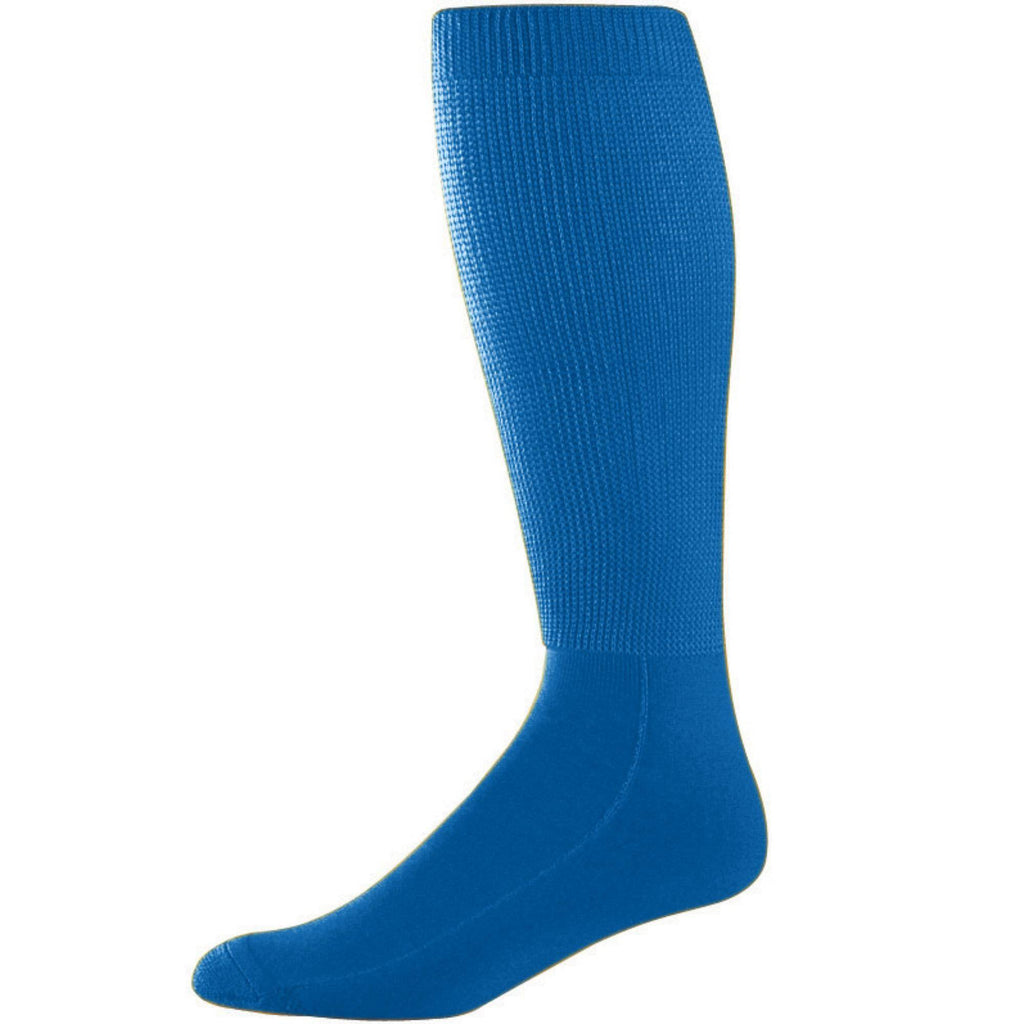 Augusta 6085 Wicking Athletic Knee High Socks - Royal - HIT A Double