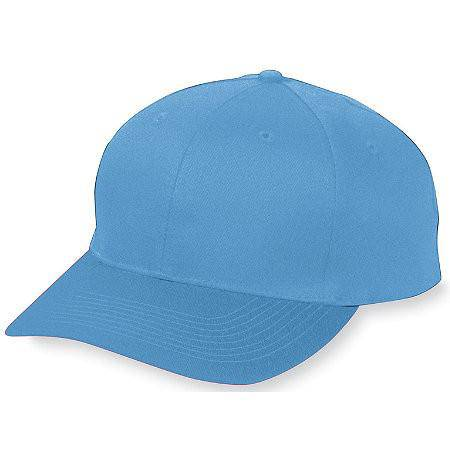 Augusta 6204 Six-Panel Cotton Twill Low-Profile Cap - Columbia Blue - HIT A Double