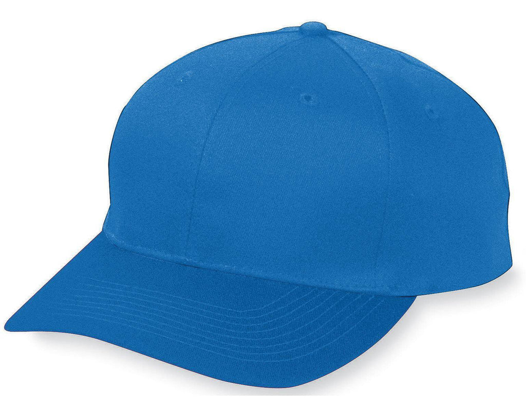 Augusta 6204 Six-Panel Cotton Twill Low-Profile Cap - Royal - HIT A Double