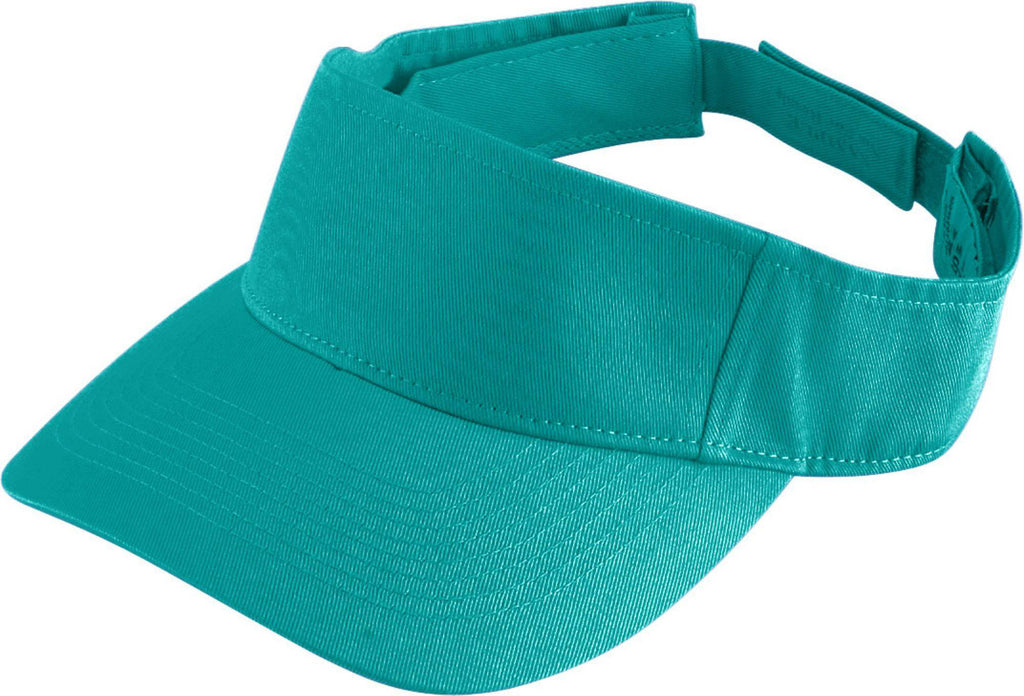 Augusta 6226 Sport Twill Visor - Youth - Teal - HIT A Double