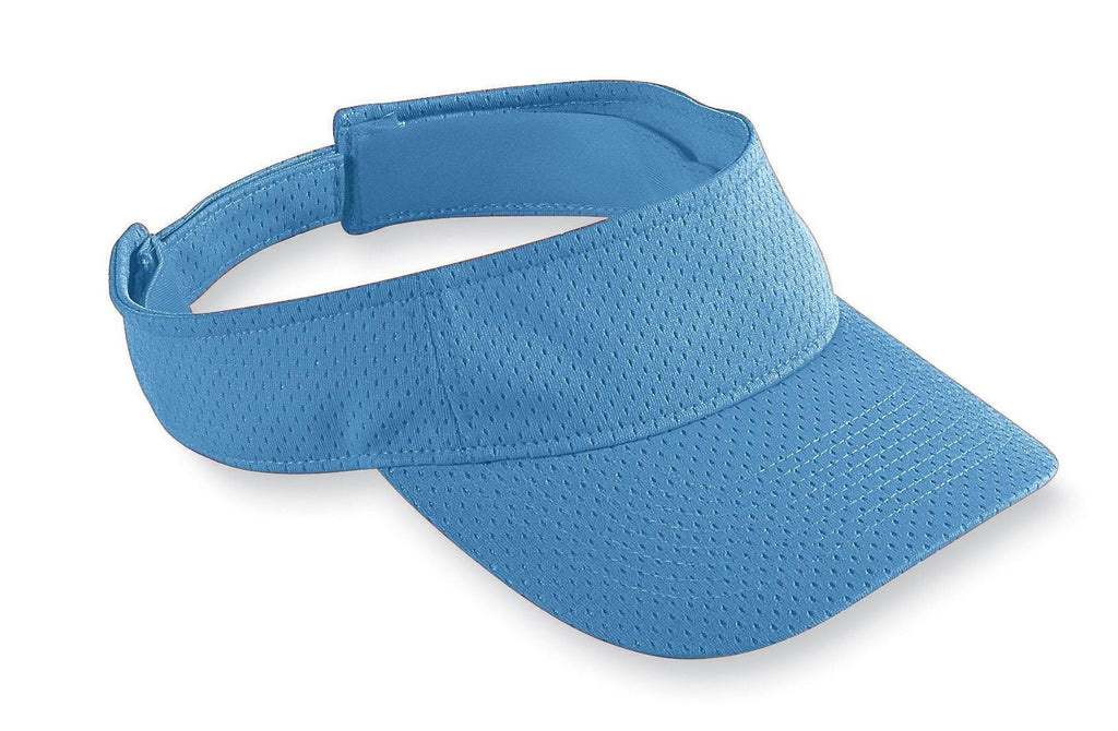 Augusta 6227 Athletic Mesh Visor - Columbia Blue - HIT A Double