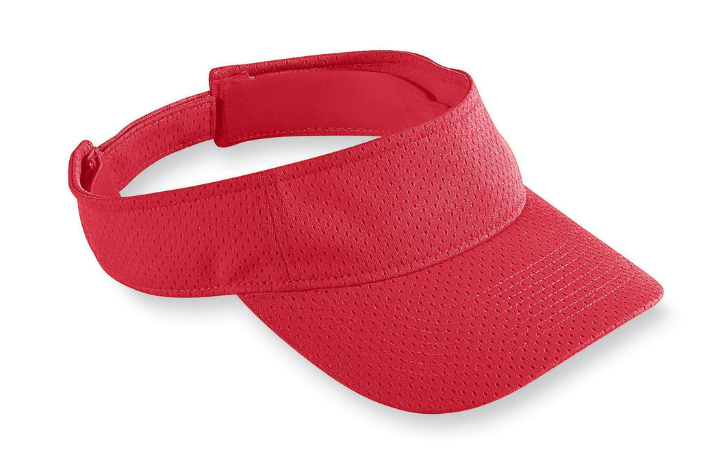 Augusta 6227 Athletic Mesh Visor - Red - HIT A Double