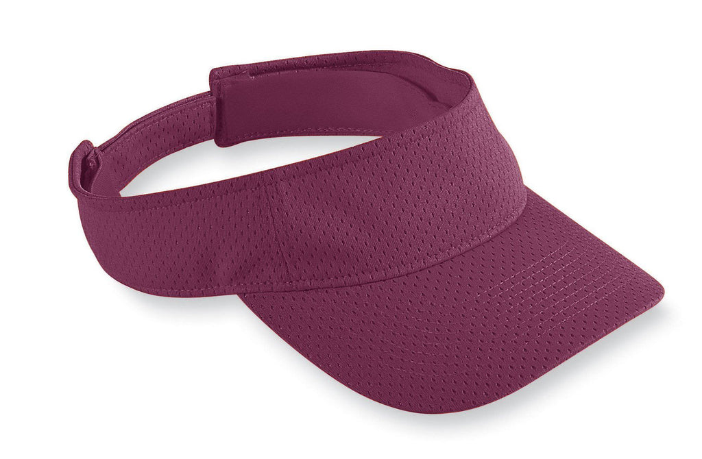 Augusta 6228 Athletic Mesh Visor - Youth - Maroon - HIT A Double