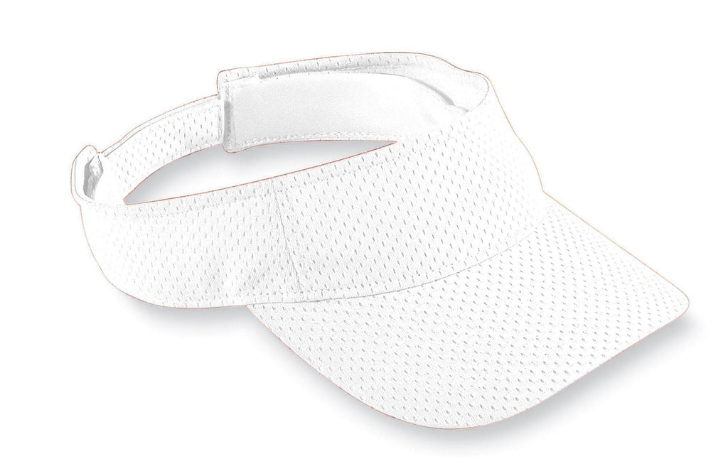Augusta 6228 Athletic Mesh Visor - Youth - White - HIT A Double