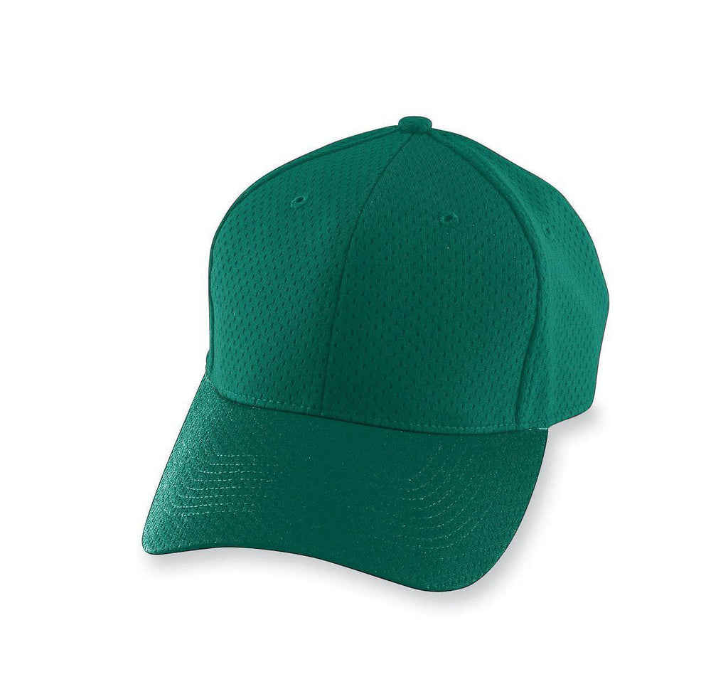 Augusta 6235 Athletic Mesh Cap - Dark Green - HIT A Double