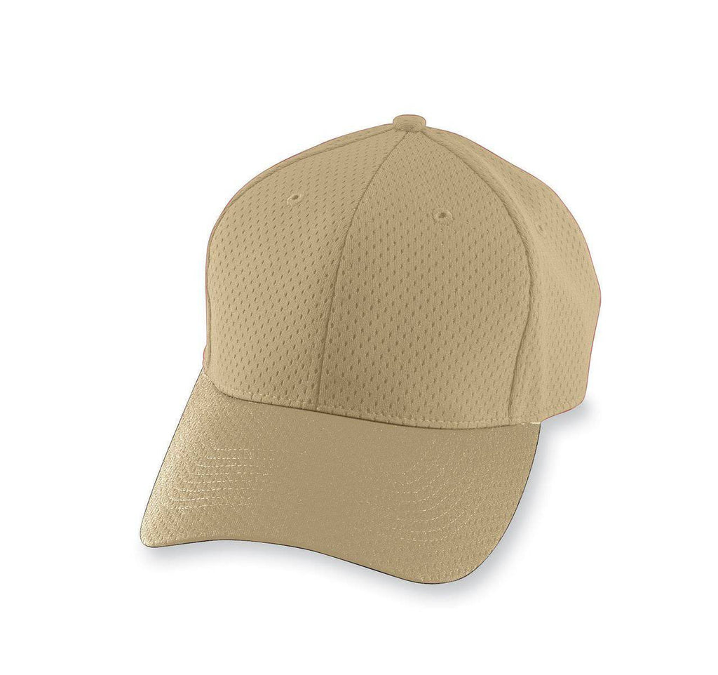 Augusta 6235 Athletic Mesh Cap - Vegas Gold - HIT A Double