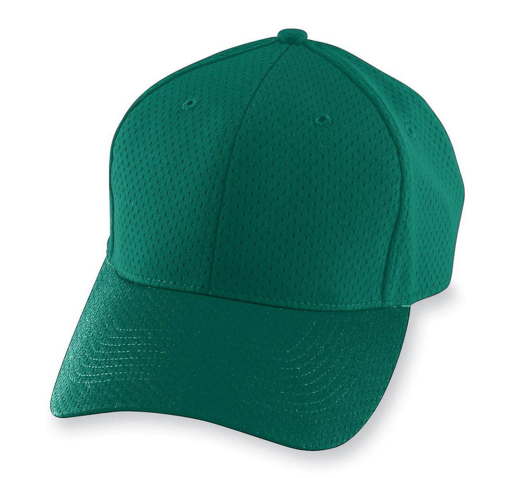 Augusta 6236 Athletic Mesh Cap - Youth - Dark Green - HIT A Double