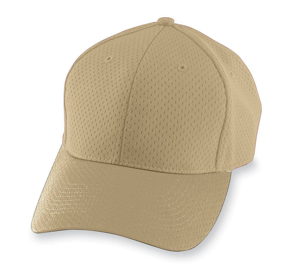 Augusta 6236 Athletic Mesh Cap - Youth - Vegas Gold - HIT A Double