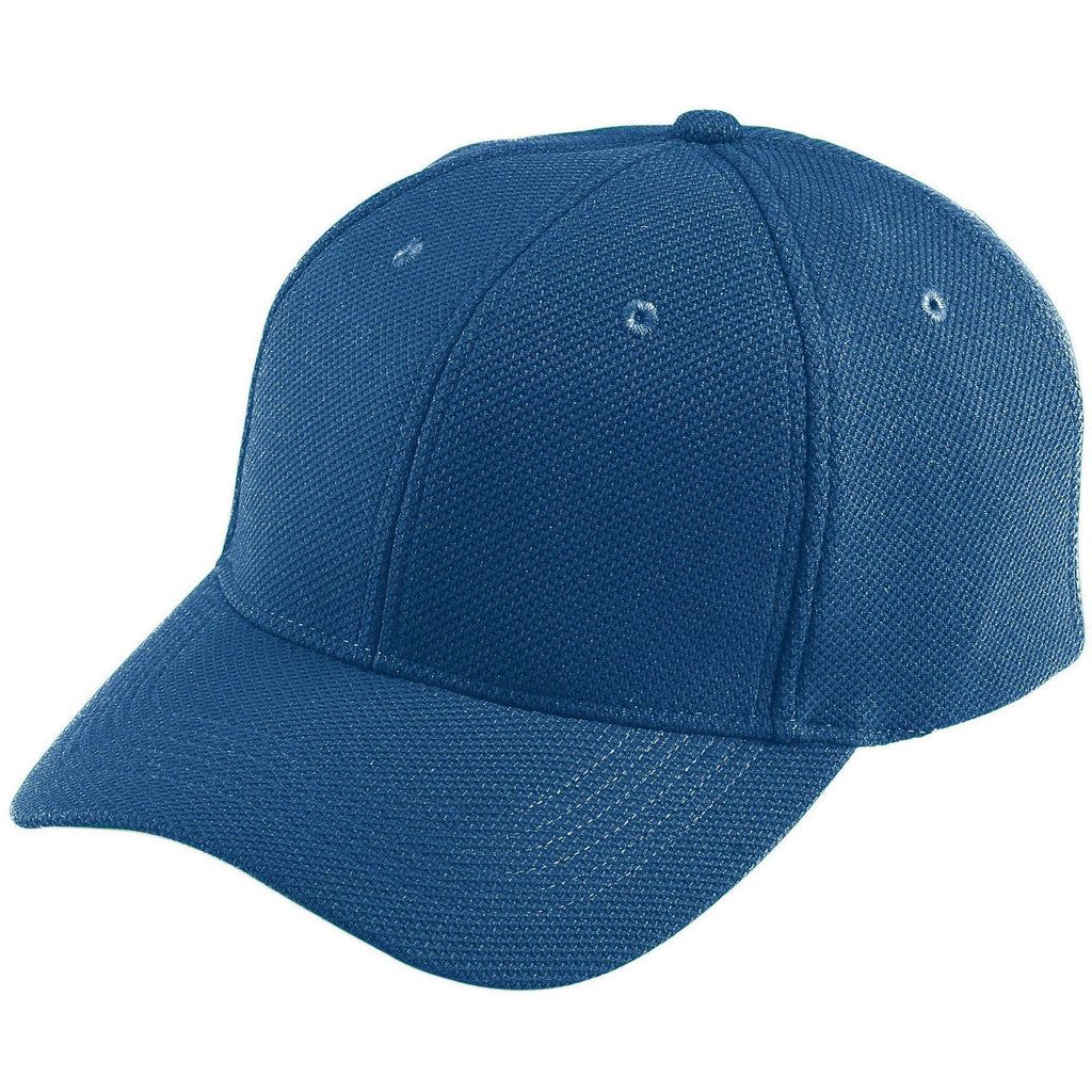 Augusta 6265 Adjustable Wicking Mesh Cap - Navy - HIT A Double