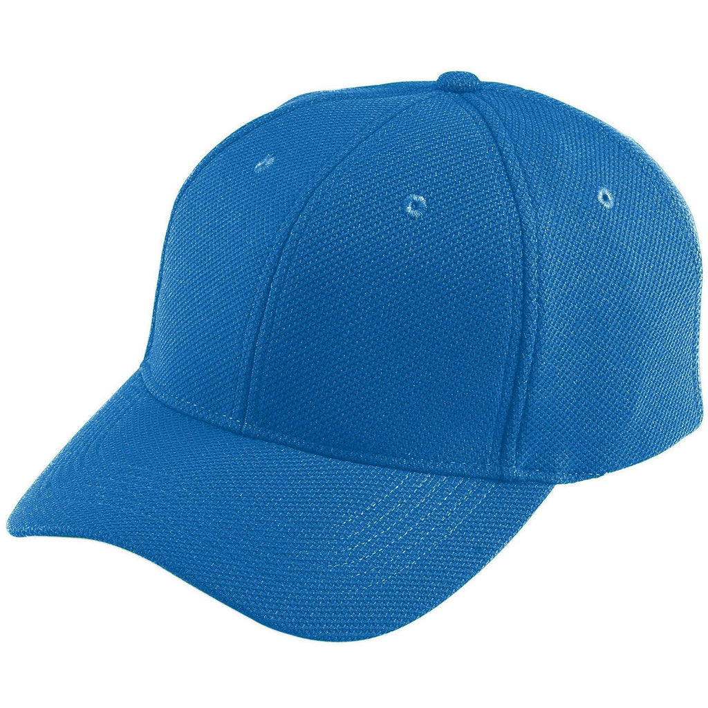 Augusta 6265 Adjustable Wicking Mesh Cap - Royal - HIT A Double