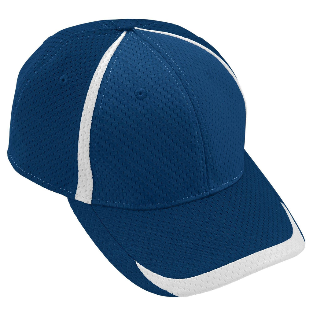 Augusta 6290 Change Up Cap - Navy White - HIT A Double