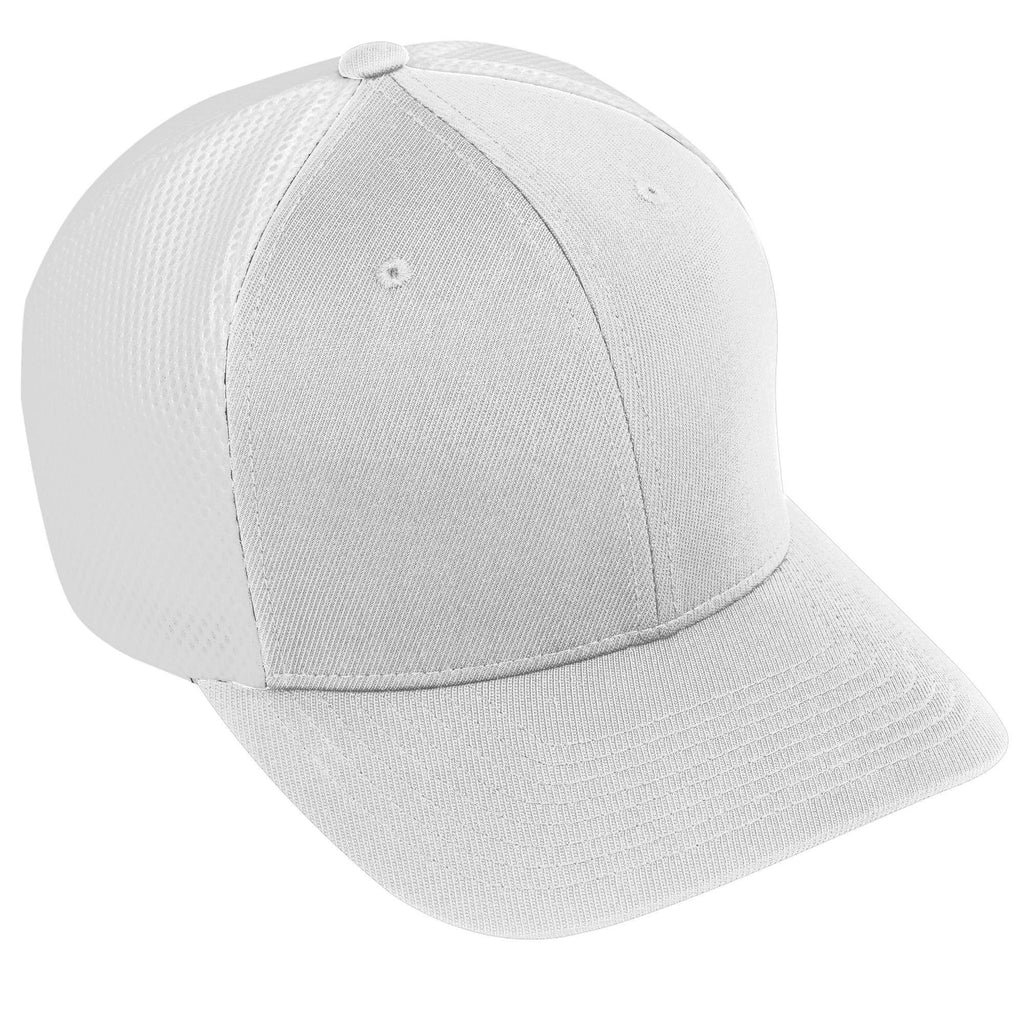 Augusta 6301 Flexfit Vapor Cap - Youth - White White - HIT A Double