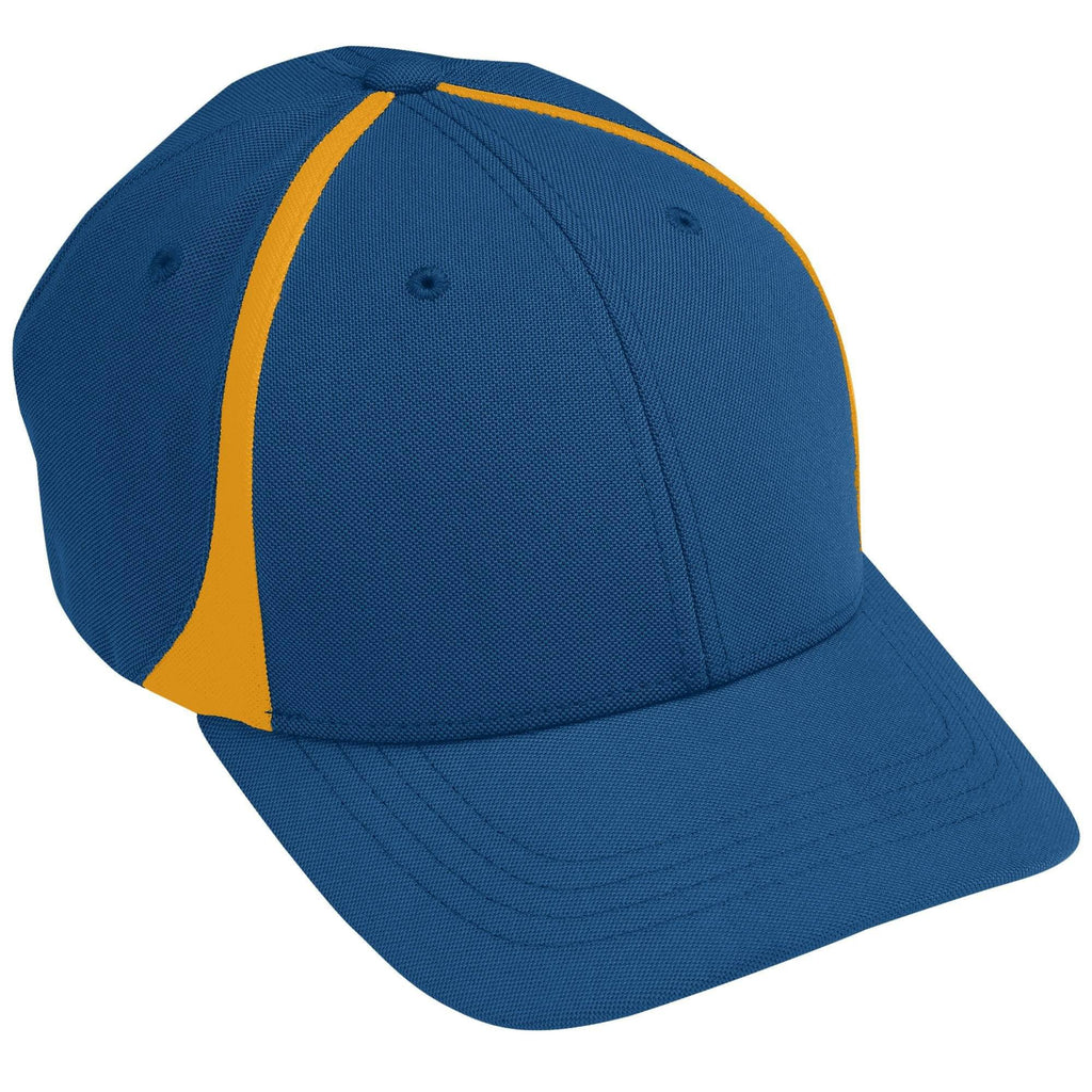 Augusta 6311 Flexfit Zone Cap - Youth - Navy Gold - HIT A Double