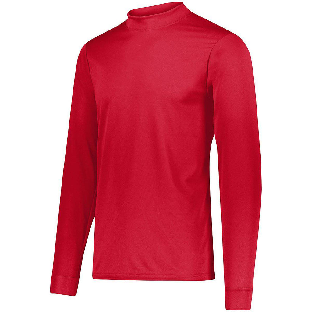 Augusta 797 Wicking Mock Turtleneck - Red - HIT A Double