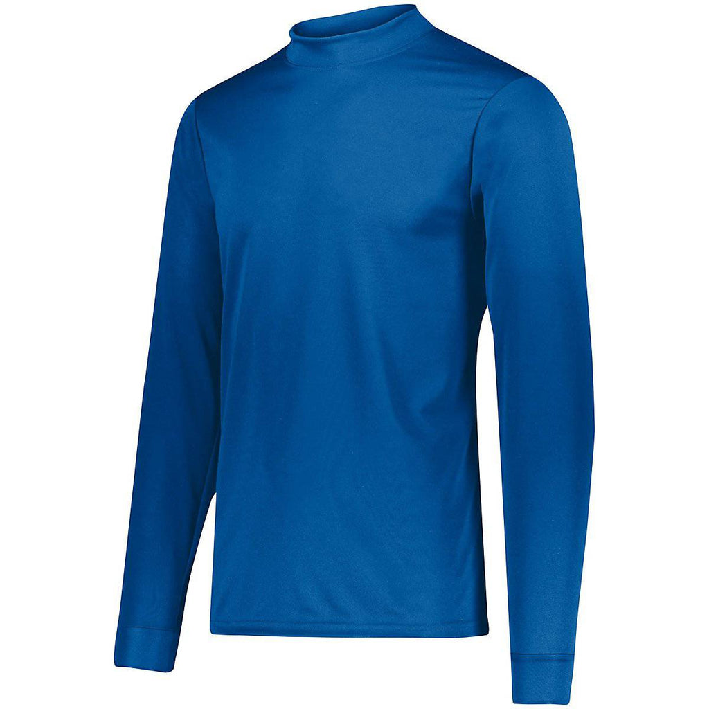 Augusta 797 Wicking Mock Turtleneck - Royal - HIT A Double