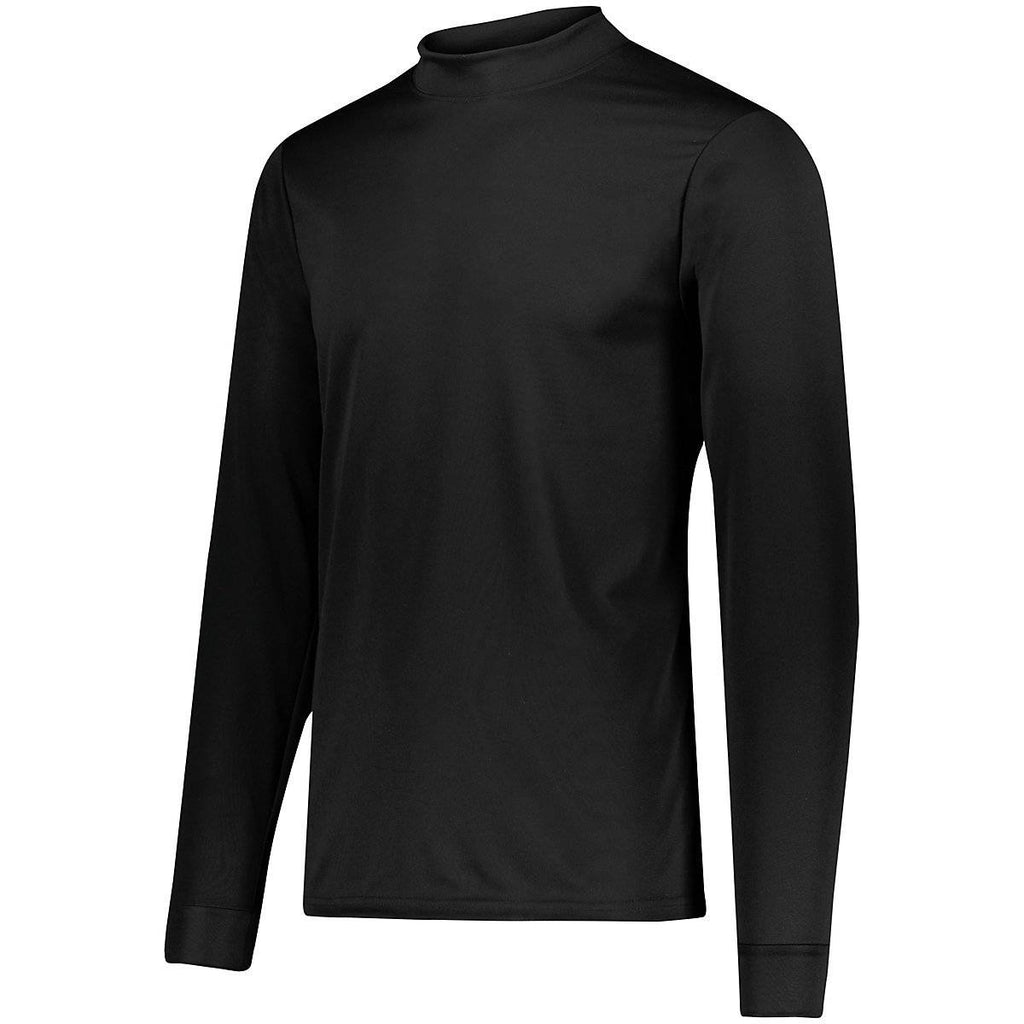 Augusta 799 Wicking Mock Turtleneck - Youth - Black - HIT A Double