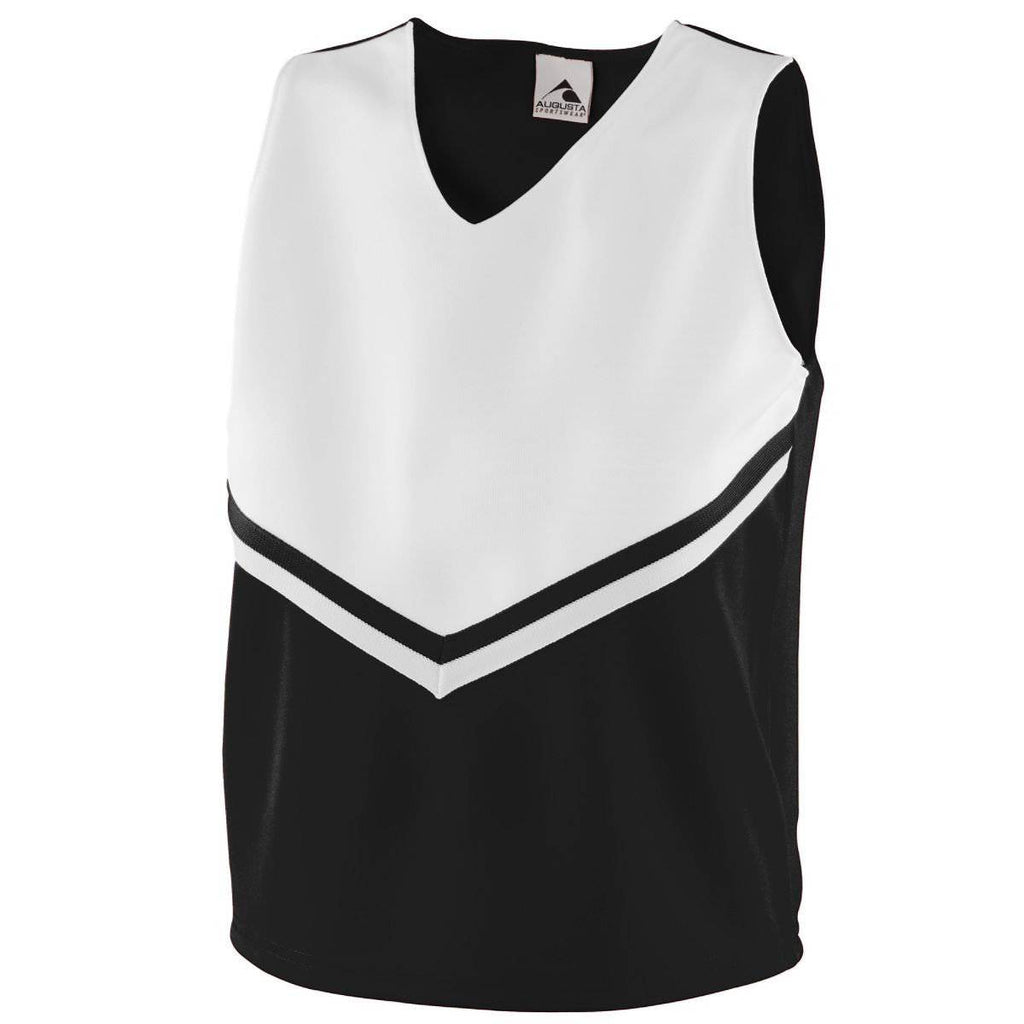 Augusta 9111 Girls Pride Shell - Black White - HIT A Double