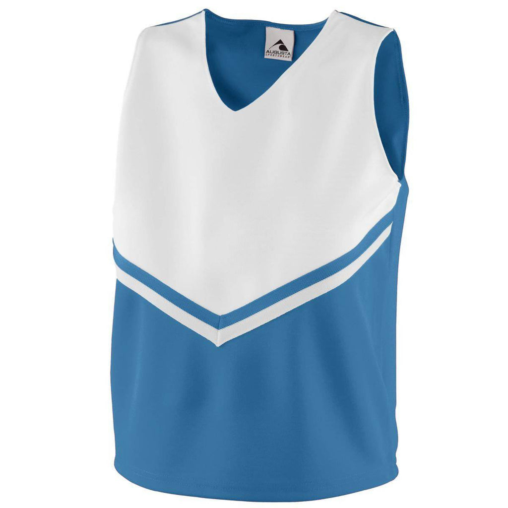 Augusta 9111 Girls Pride Shell - Columbia Blue White - HIT A Double